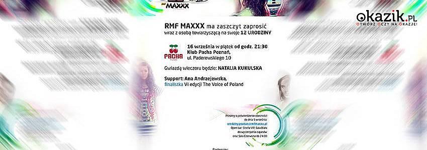 Okazik na 12 urodzinach RMF MAXXX